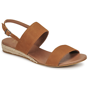 Shoes Women Sandals Casual Attitude OLIVE Camel