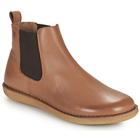 Shoes Women Mid boots Casual Attitude ODILETTE Camel