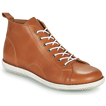 Shoes Women Mid boots Casual Attitude OUETTE Camel