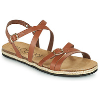 Shoes Women Sandals Casual Attitude ILMEM Brown