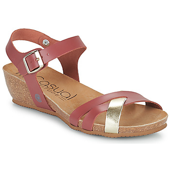 Shoes Women Sandals Casual Attitude OYA Camel / Gold
