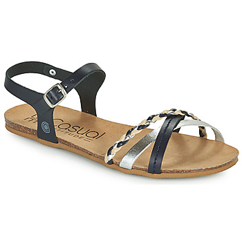 Shoes Women Sandals Casual Attitude ODIA Marine / Silver