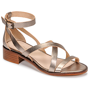 Shoes Women Sandals Casual Attitude COUTIL Bronze