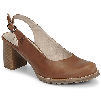 Shoes Women Court shoes Casual Attitude OLEA Camel