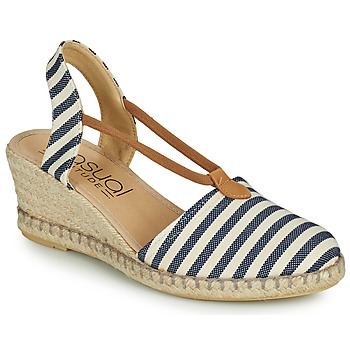 Shoes Women Sandals Casual Attitude IPOP White / Blue