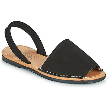 Shoes Women Sandals Casual Attitude OSTILO Black