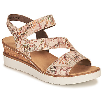 Shoes Women Sandals Rieker CASSIE Multicolour