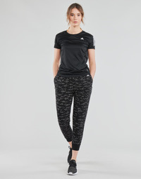material Women Tracksuit bottoms adidas Performance W WIN Pant Black