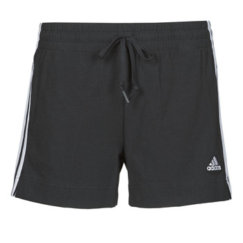 material Women Shorts / Bermudas adidas Performance W 3S SJ SHO Black