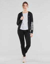 material Women Tracksuits adidas Performance W LIN FT TS Black