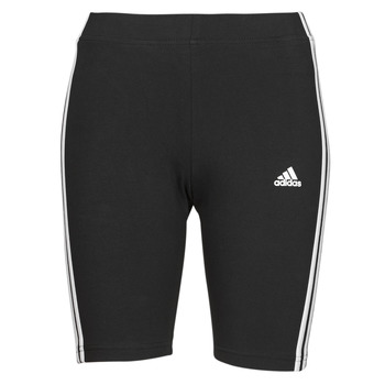 material Women leggings adidas Performance W 3S BK SHO Black