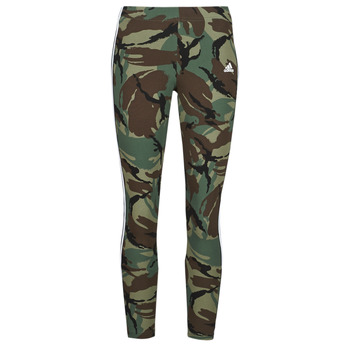material Women leggings adidas Performance W CAMO 78 LEG Green