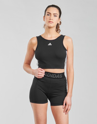 material Women Sport bras adidas Performance W 3S CRO Black