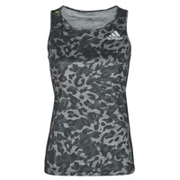 material Women Tops / Sleeveless T-shirts adidas Performance P.BLUE TANK Grey