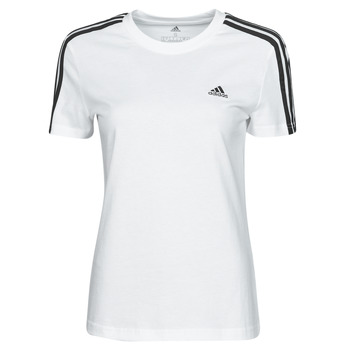 material Women short-sleeved t-shirts adidas Performance W 3S T White