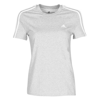 material Women short-sleeved t-shirts adidas Performance W 3S T Grey