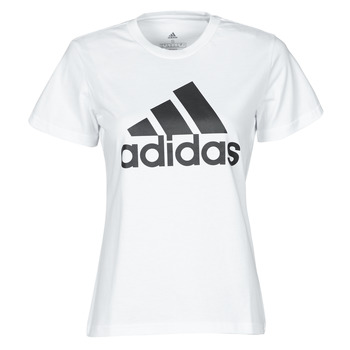 material Women short-sleeved t-shirts adidas Performance W BL T White