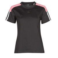 material Women short-sleeved t-shirts adidas Performance W CB LIN T Black