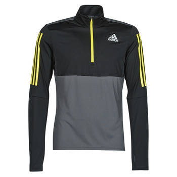 material Men sweaters adidas Performance OWN THE RUN 1/2 Grey