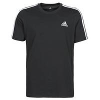 material Men short-sleeved t-shirts adidas Performance M 3S SJ T Black