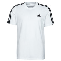 material Men short-sleeved t-shirts adidas Performance M 3S SJ T White