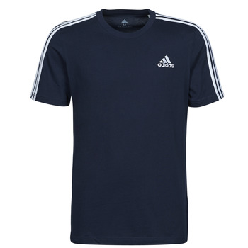 material Men short-sleeved t-shirts adidas Performance M 3S SJ T Blue