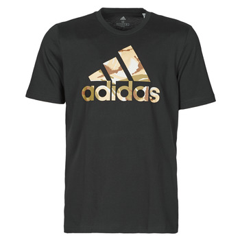 material Men short-sleeved t-shirts adidas Performance M CAMO T Black