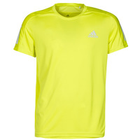 material Men short-sleeved t-shirts adidas Performance OWN THE RUN TEE Yellow
