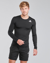 material Men Long sleeved shirts adidas Performance TF LS Black