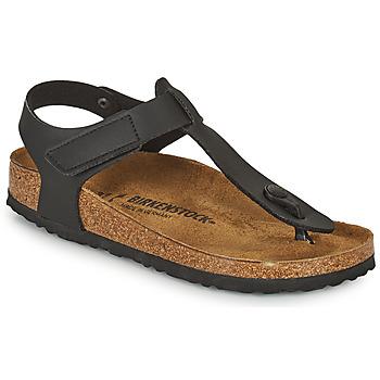 Shoes Children Flip flops Birkenstock KAIRO HL Black