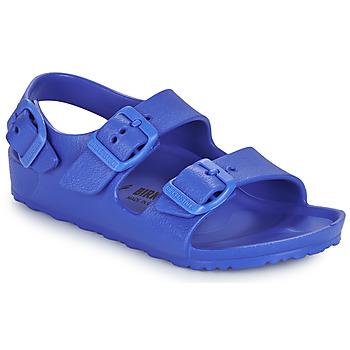 Shoes Boy Sandals Birkenstock MILANO EVA Blue