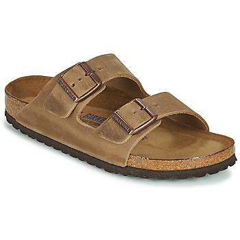 Shoes Women Mules Birkenstock ARIZONA SFB Brown