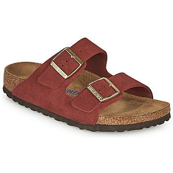 Shoes Women Mules Birkenstock ARIZONA SFB Red