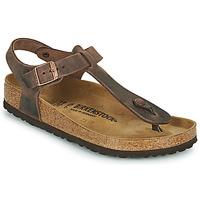 Shoes Women Flip flops Birkenstock KAIRO Brown