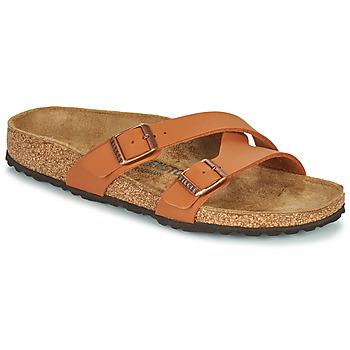Shoes Women Mules Birkenstock YAO BALANCE Brown