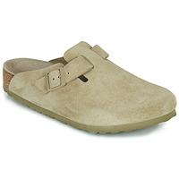 Shoes Men Clogs Birkenstock BOSTON SFB Kaki