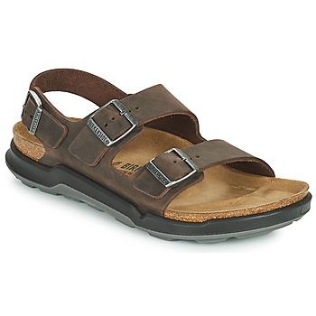 Shoes Men Sandals Birkenstock MILANO CT Brown