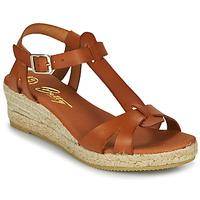 Shoes Women Sandals Betty London OBORSEL Cognac