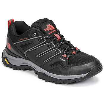 Shoes Women Hiking shoes The North Face HEDGEHOG FUTURELIGHT Black / Red
