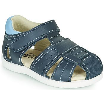 Shoes Boy Sandals Citrouille et Compagnie OLISS Blue