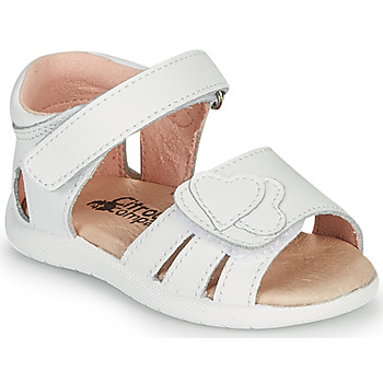 Shoes Girl Sandals Citrouille et Compagnie OLESS White