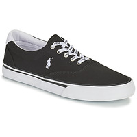 Shoes Men Low top trainers Polo Ralph Lauren THORTON-SNEAKERS-VULC Black