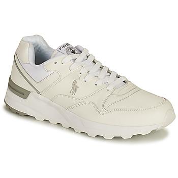 Shoes Men Low top trainers Polo Ralph Lauren TRCKSTR PONY-SNEAKERS-ATHLETIC SHOE White