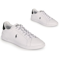 Shoes Low top trainers Polo Ralph Lauren HRT CT II-SNEAKERS-ATHLETIC SHOE White / Black