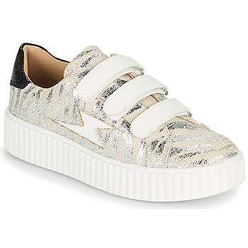 Shoes Women Low top trainers Vanessa Wu BK2065BA Grey
