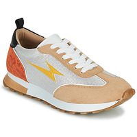 Shoes Women Low top trainers Vanessa Wu BK2268BG Beige / Yellow / Orange