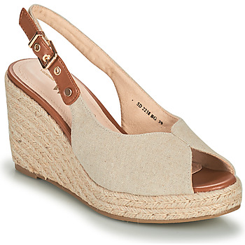 Shoes Women Sandals Vanessa Wu SD2238BG Beige / Brown
