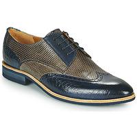 Shoes Men Derby shoes Melvin & Hamilton BOBBY 1 Grey / Blue