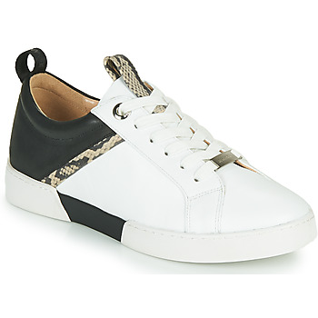 Shoes Girl Low top trainers JB Martin GELATO White / Black