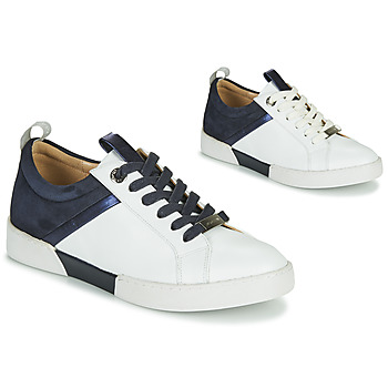 Shoes Girl Low top trainers JB Martin GELATO White / Marine
